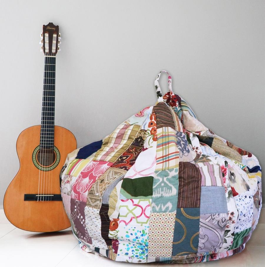BeanBags out of textile waste