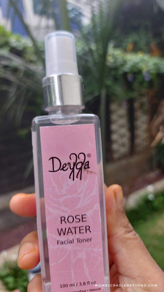 Deyga, the rose water as facial toner