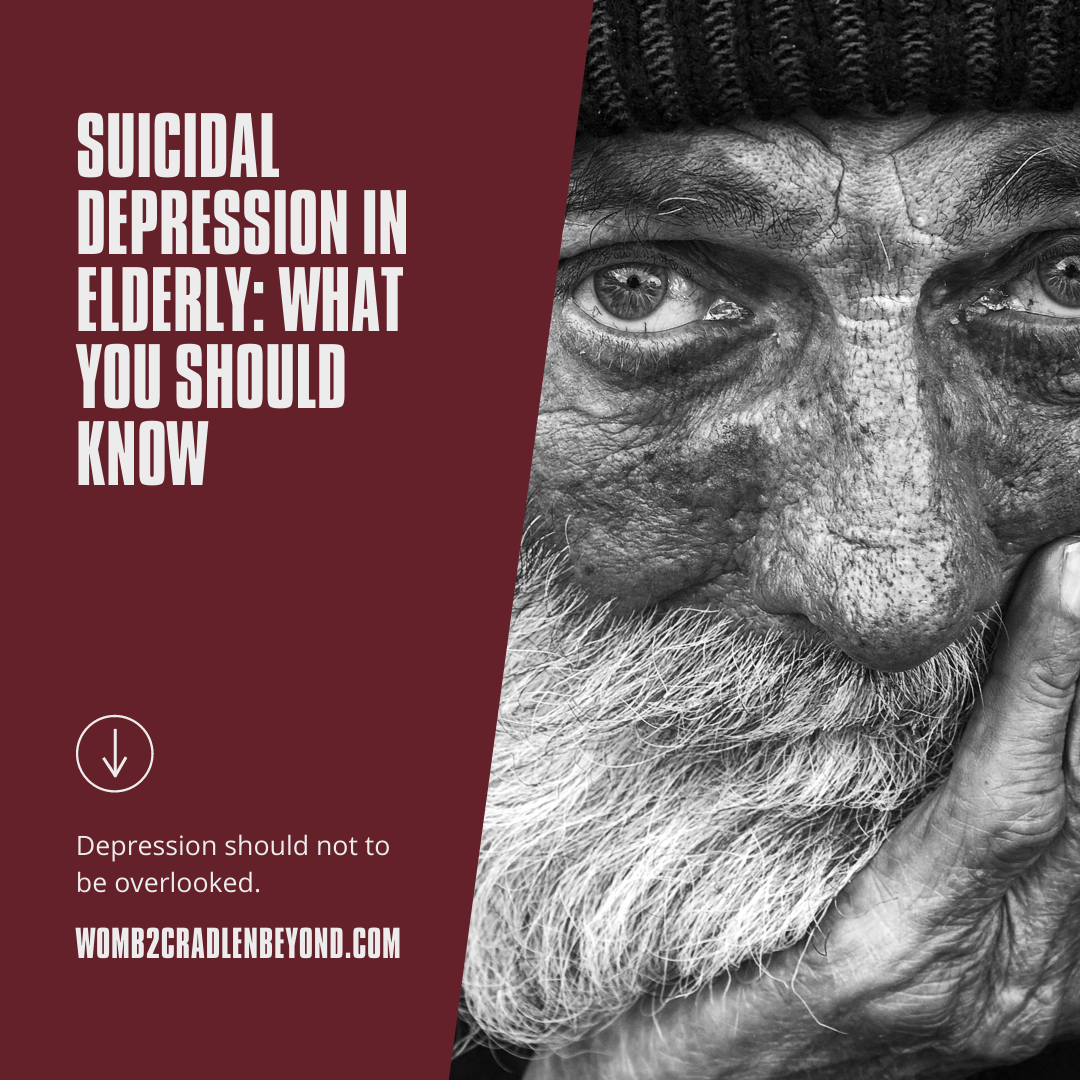 Suicidal Depression in Elderly : what you should know